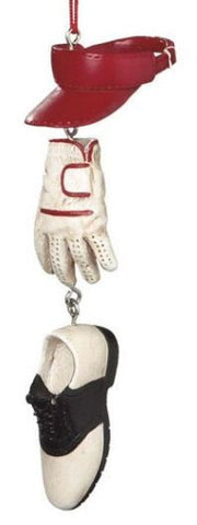 Golf Gear Christmas Ornament