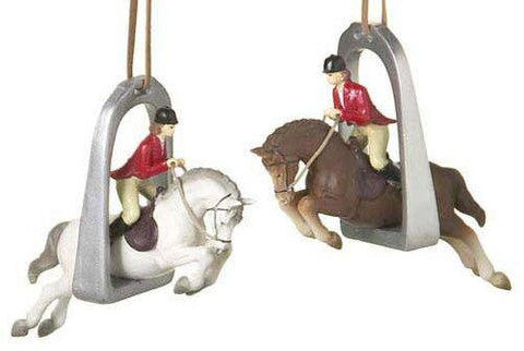Horse Christmas Ornament (Set of 2)