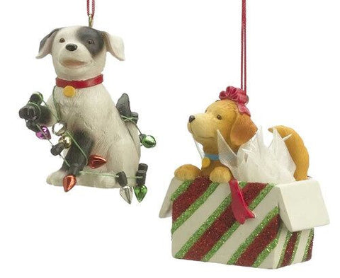 Santa Helper Dogs (Set of 2)