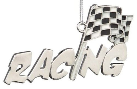 Racing Christmas Ornament