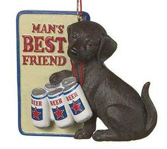 Man's Best Friend Christmas Ornament