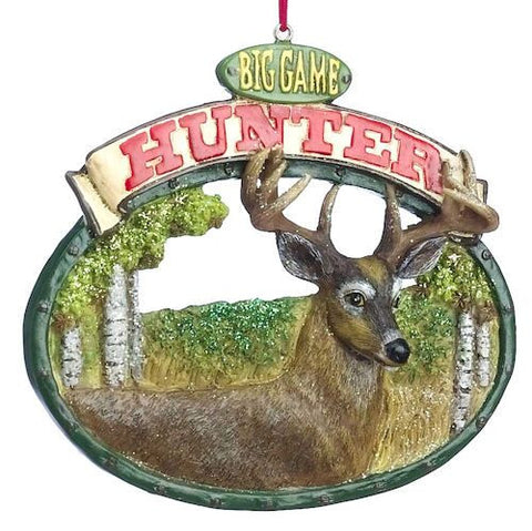Deer Hunting Christmas Ornament