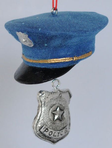 Police Hat Ornament