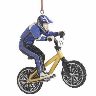 BMX Christmas Ornament