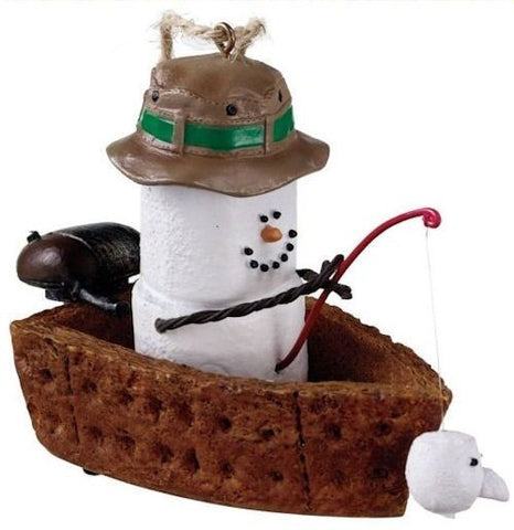 S'more Fishingh ornament