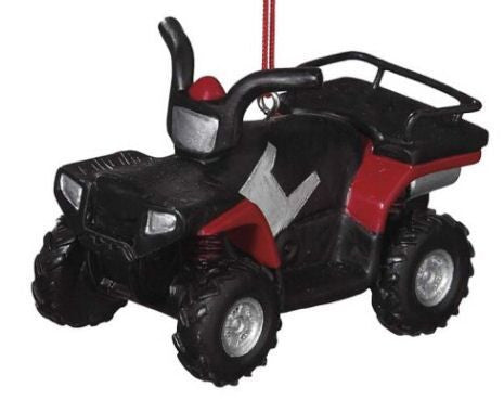 ATV Christmas Ornament
