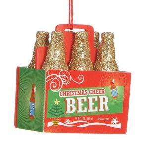 Beer 6-Pack Christmas Ornament