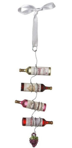 Wine Bottle Garland Christmas Ornament