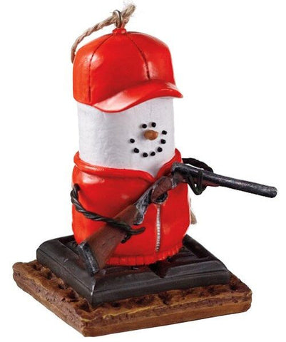 S'more Hunter Christmas Ornament