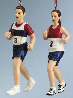 Runners Christmas Ornaments (Set of 2)