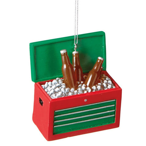 Iced Beer Tool Box Chirstmas Ornament