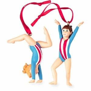 Gymnastics Christmas Ornament (Set of 2)