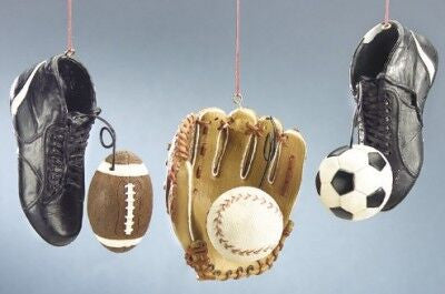 Sports Equitment Chistmas Ornament
