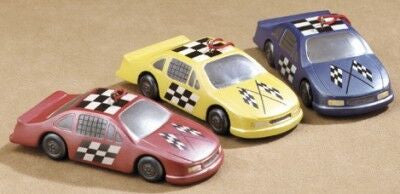 Stock Car Christmas Ornaments (Set of 3)