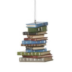 Books Christmas Ornaments