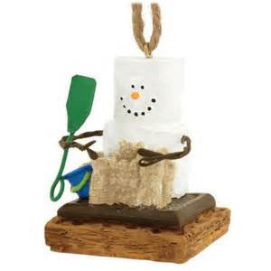 S'more with Sand Castle Christmas Ornament