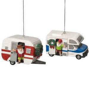 RV an Camper Christmas Ornaments (Set of 2)