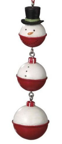 Snowman Bobber Christmas Ornament