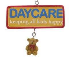 Day Care Christmas Ornament