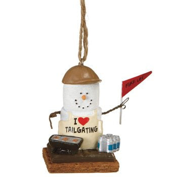 S'more Tailgating Christmas Ornament
