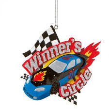 Winner's Circle Christmas Ornament