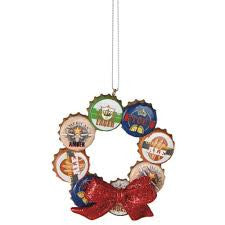 Beer Bottle Cap Christmas Ornament