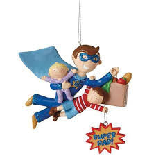 Super Dad Christmas Ornament