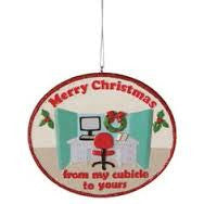 Merry Christmas Cubicle Ornament