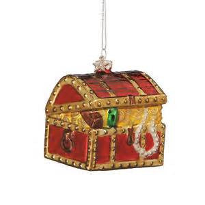 Treasure Chest Christmas Ornament