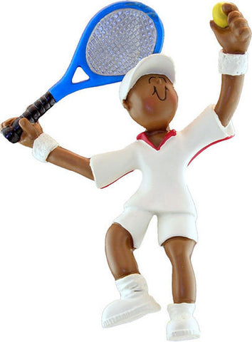 African-American Male Tennis Player