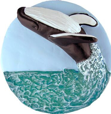 Humpback Whale Christmas Ornament
