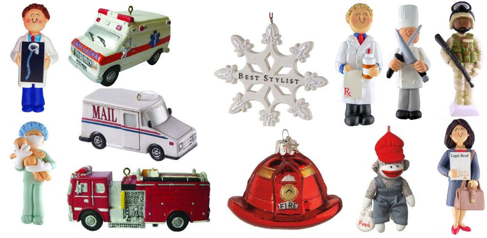 Work Christmas Ornaments