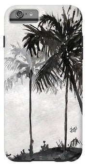 Black and White Palm - Phone Case