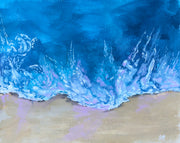"8x10 in. ""WASH ASHORE"""