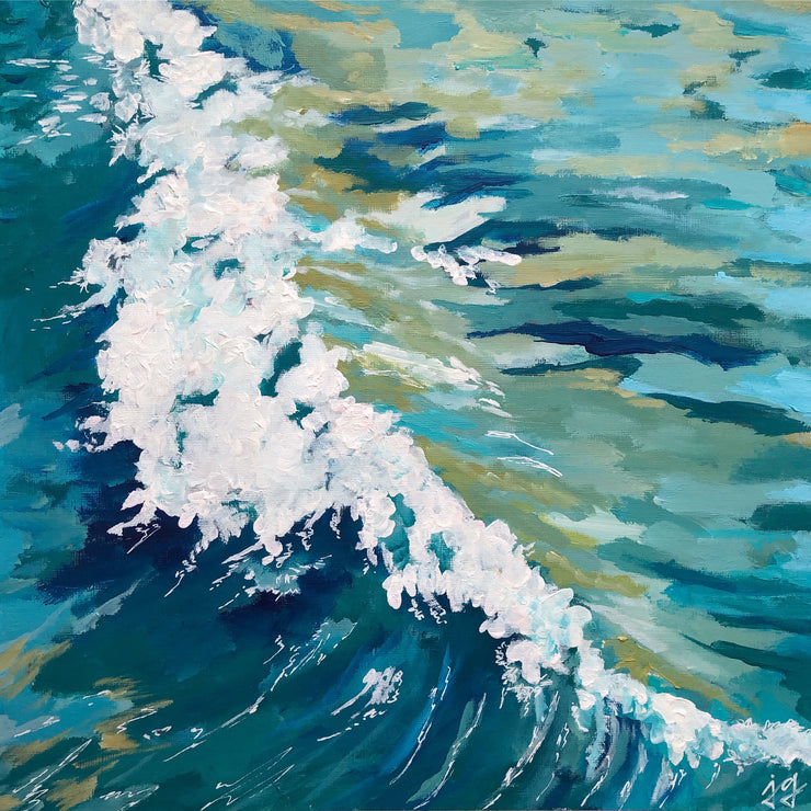 "12x12 in. ""SEA FOAM"""