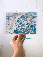"5x7 in. ""TEAL TIDE"""