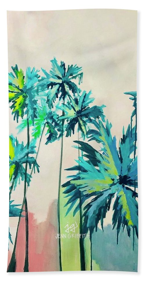 Palm Party - Beach Towel