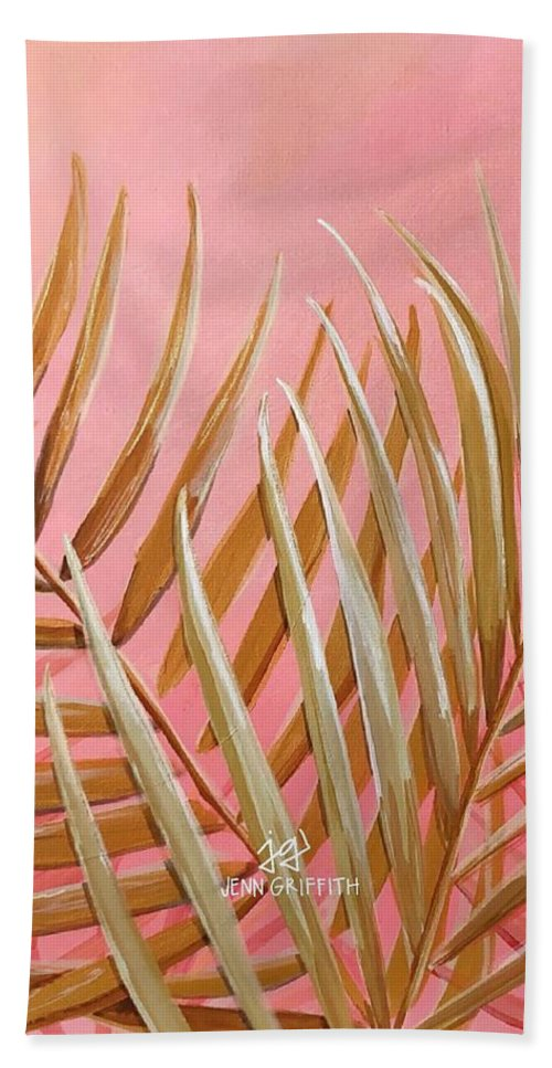 Sunbleached palm - Beach Towel
