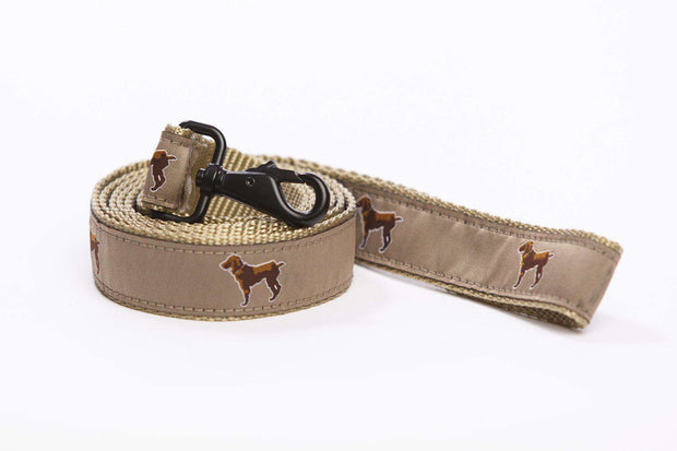 Little Brown Dog Leash - Khaki - Little Brown Dog Southern Trade Co