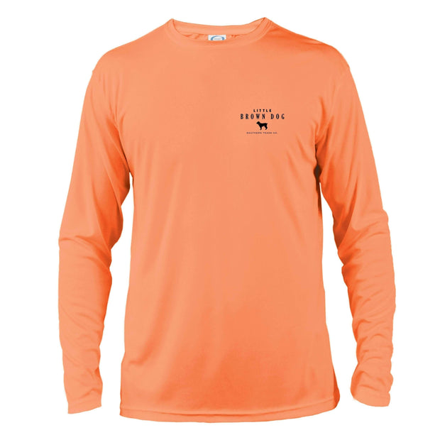 Pop Bottle UPF 50+ Sun Protection Performance Long Sleeve T-Shirt - Little Brown Dog Southern Trade Co