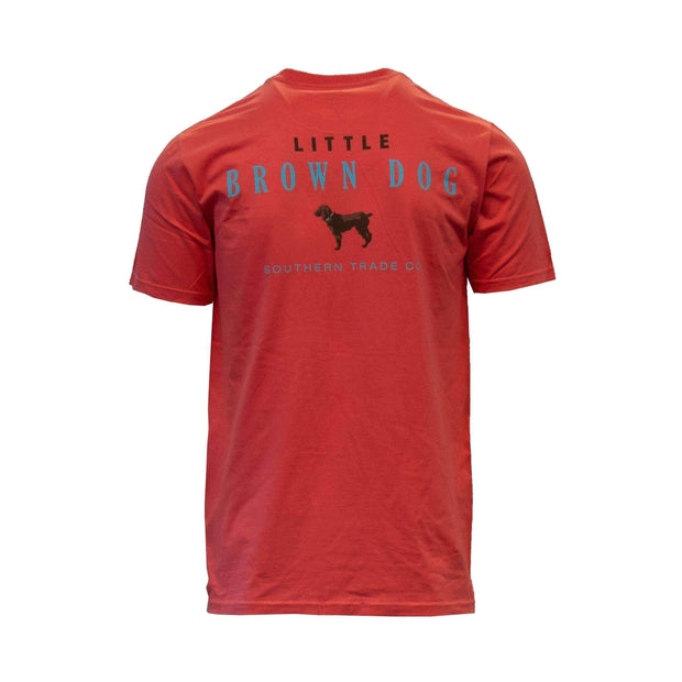 Little Brown Dog Short Sleeve T-Shirt - Little Brown Dog Southern Trade Co