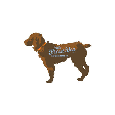 Little Brown Dog Logo Sticker Little Brown Dog Southern Trade Co