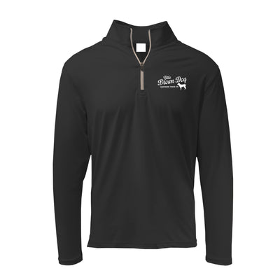 Little Brown Dog Mid-Weight Quarter Zip Pullover - Little Brown Dog Southern Trade Co