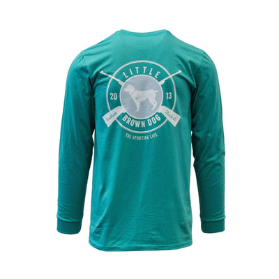 Copy of Sporting Life Long Sleeve T-Shirt T-Shirt Little Brown Dog Southern Trade Co Outerbanks Teal S