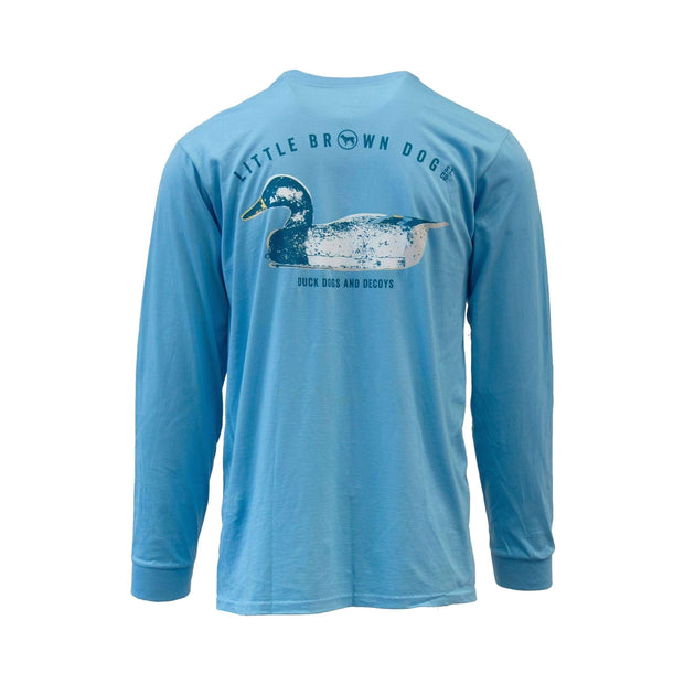 Copy of Decoy Shirt Long Sleeve T-Shirt T-Shirt Little Brown Dog Southern Trade Co Coastal Blue S