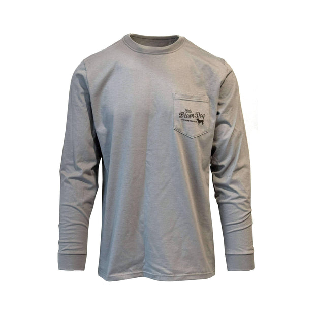 Copy of Southern Loyalty by Gordon Allen Long Sleeve T-Shirt T-Shirt Little Brown Dog Southern Trade Co