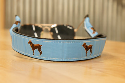 Little Brown Dog Ribbon Croakie - Little Brown Dog Southern Trade Co