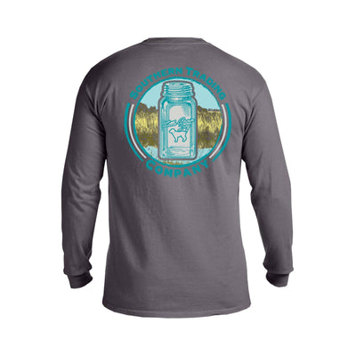 Mason Jar Long Sleeve T-Shirt - Little Brown Dog Southern Trade Co