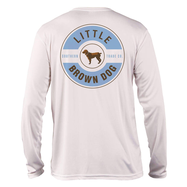Little Brown Dog Classic Logo UPF 50+ Sun Protection Long Sleeve T-Shirt T-Shirt Little Brown Dog Southern Trade Co