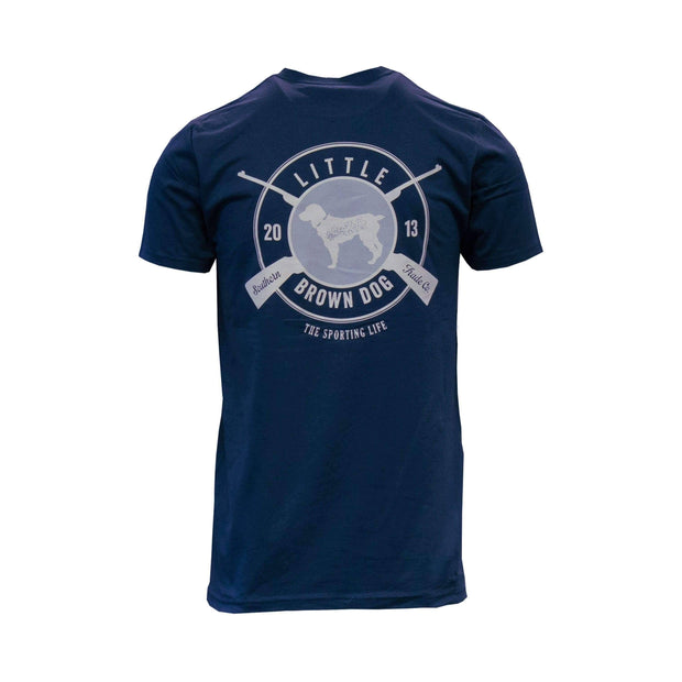 Copy of Sporting Life Short Sleeve T-Shirt T-Shirt Little Brown Dog Southern Trade Co Navy Blue S